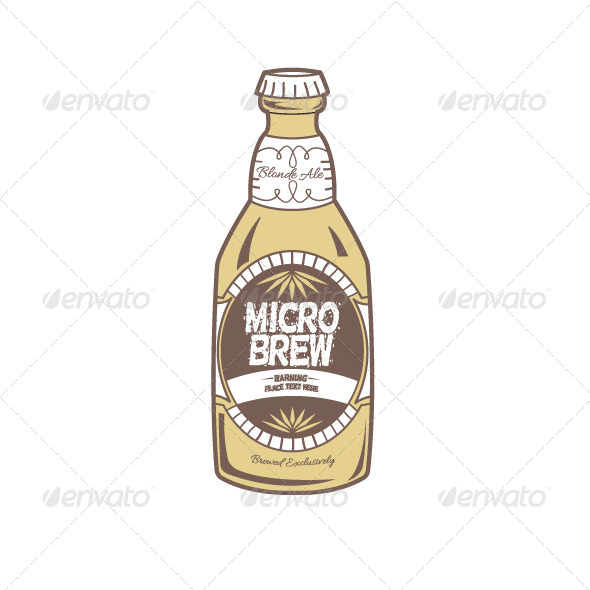 GraphicRiver Beer Bottle 5176762