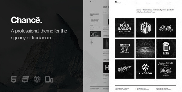 Chancë - Responsive WordPress Theme - Portfolio Creative