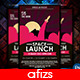 Space Launch Party Flyer - GraphicRiver Item for Sale