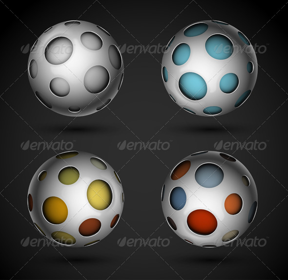GraphicRiver Abstract Sphere 5133467