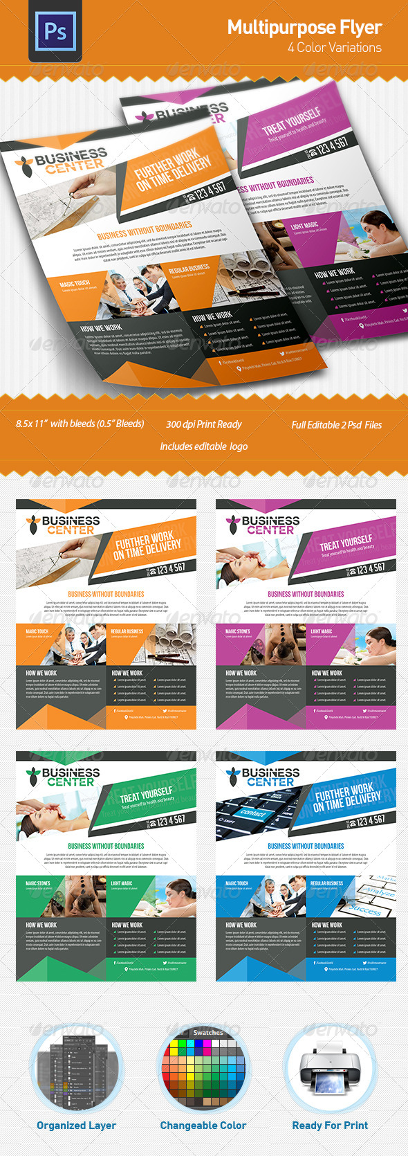 GraphicRiver Multipurpose Flyer 5117077