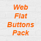 Web Flat Buttons Pack (3 Styles) - GraphicRiver Item for Sale