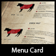 Steakhouse Menu Card in Wes-Graphicriver中文最全的素材分享平台