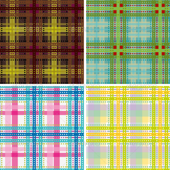 GraphicRiver Tartan Plaid Seamless Pattern 5181373