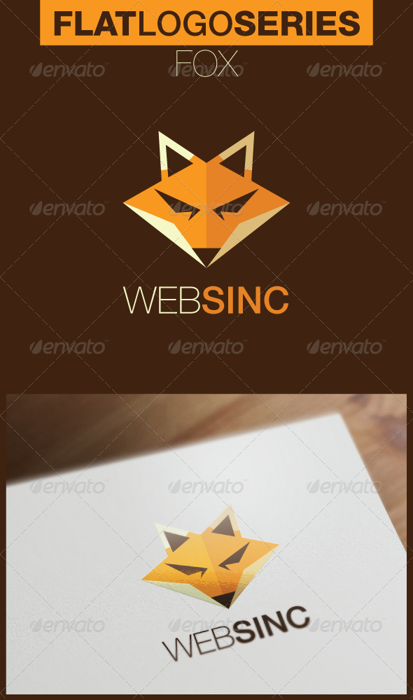 GraphicRiver Fox Logo 5181867