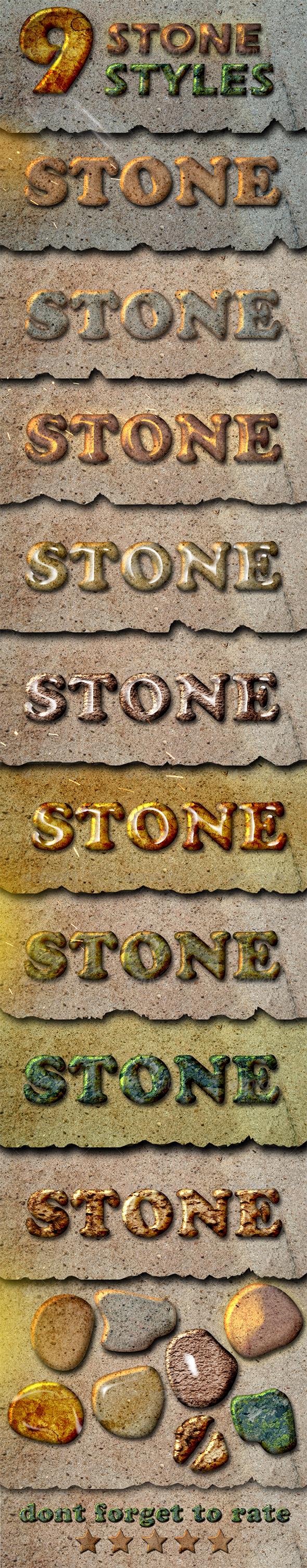 GraphicRiver Stone Styles 5182357