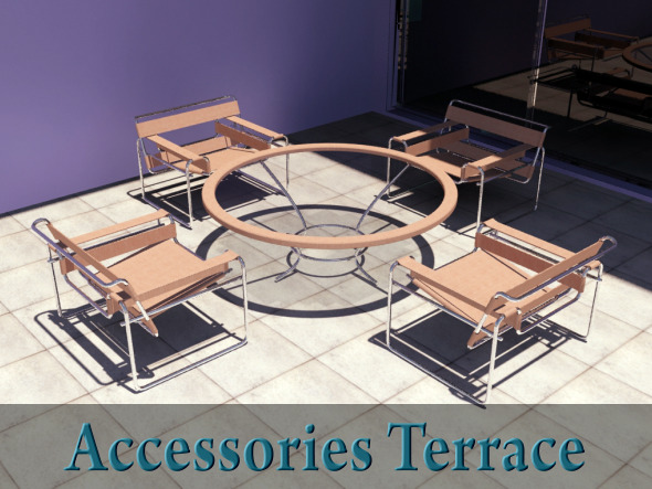3DOcean Patio Accessories 5182371