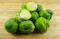 brussel sprout on chopping board  - PhotoDune Item for Sale