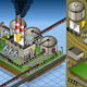 Isometric Petroleum Plant in Production of Energy - GraphicRiver Item for Sale