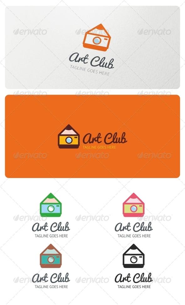 GraphicRiver Art Club Logo Template 5183194