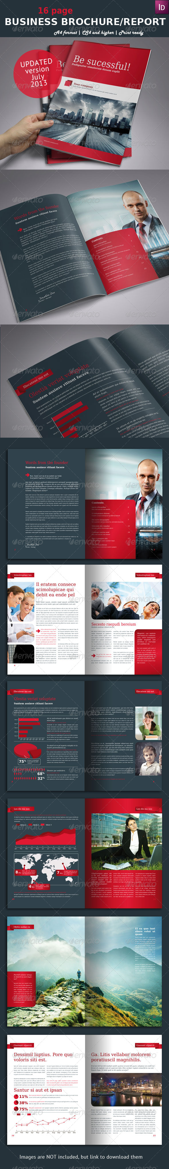 Business Brochure / Report A4 - Informational Brochures