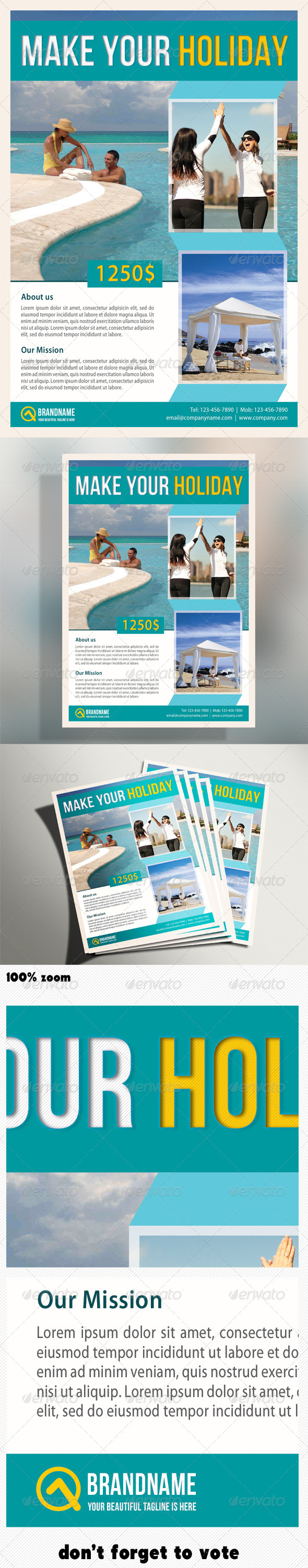 GraphicRiver Corporate Product Flyer 08 5121318