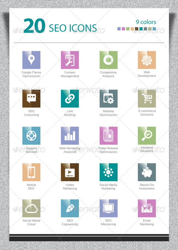 GraphicRiver Media Icons 5187238