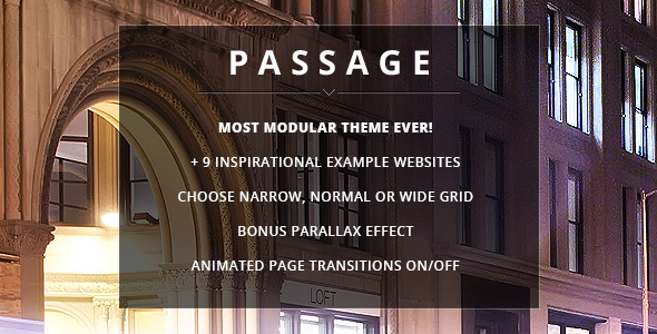 Passage - Responsive Retina Multi-Purpose Theme - Business Corporate