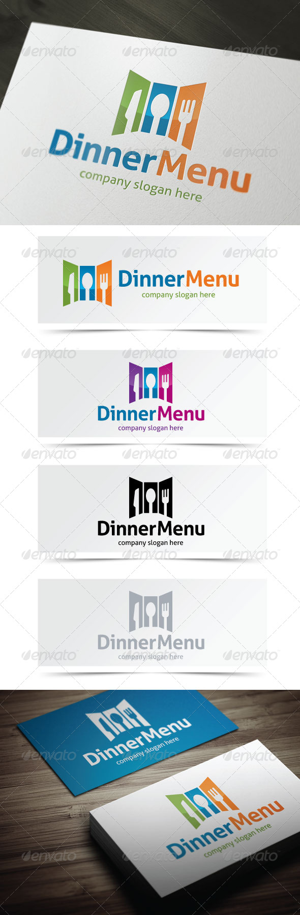 GraphicRiver Dinner Menu 5189099