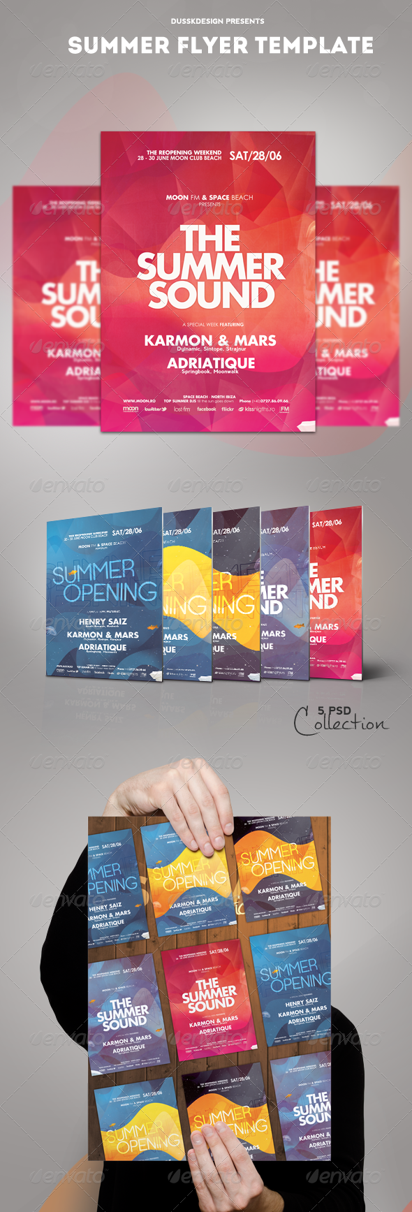 GraphicRiver Summer Flyer Template 5048114