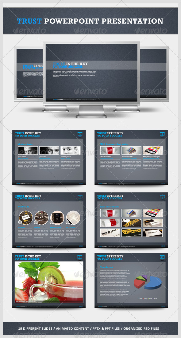 GraphicRiver Trust Powerpoint Presentation 533356