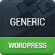 Generic - Unique Flat WordPress Theme - ThemeForest Item for Sale