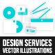Design Services Vector Illustrations - GraphicRiver Item for Sale