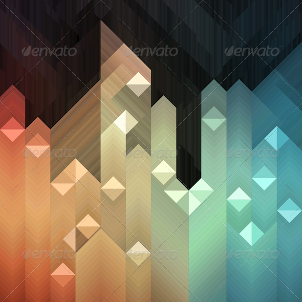 GraphicRiver Colorful Mosaic Background 5193096