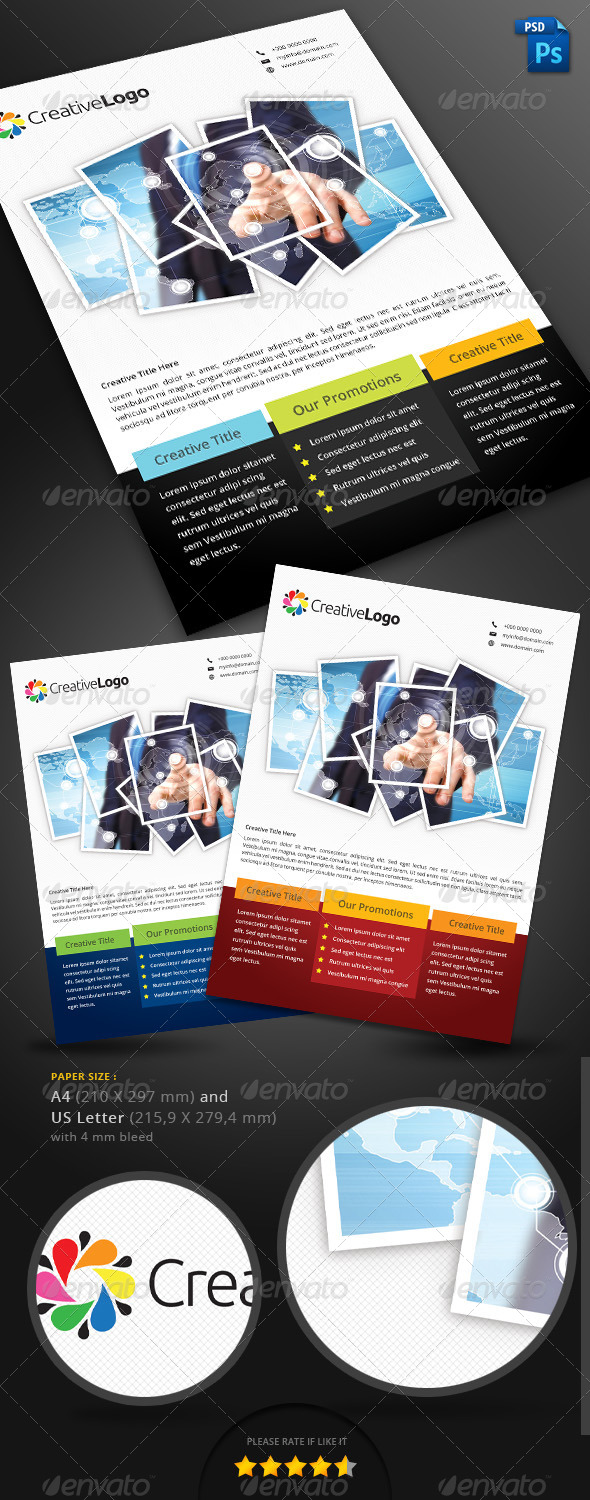 GraphicRiver Multipurpose Corporate Flyer 5063058