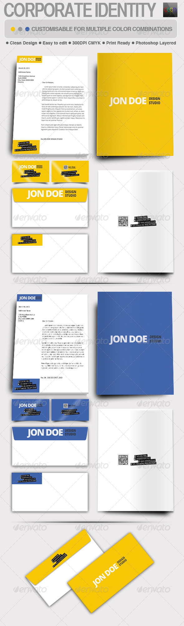 GraphicRiver Corporate Identity for Design Studio 5194263
