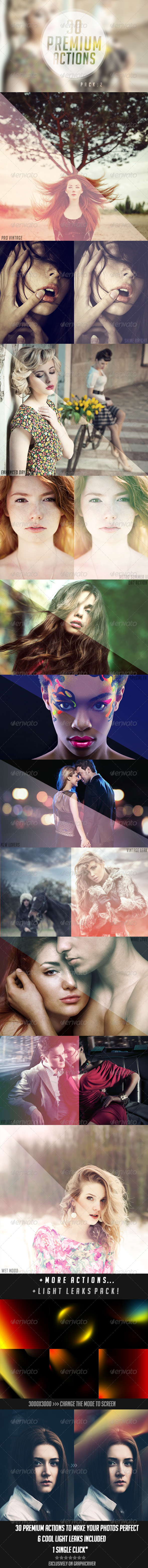 GraphicRiver 30 Premium Photoshop Actions 2 5194610