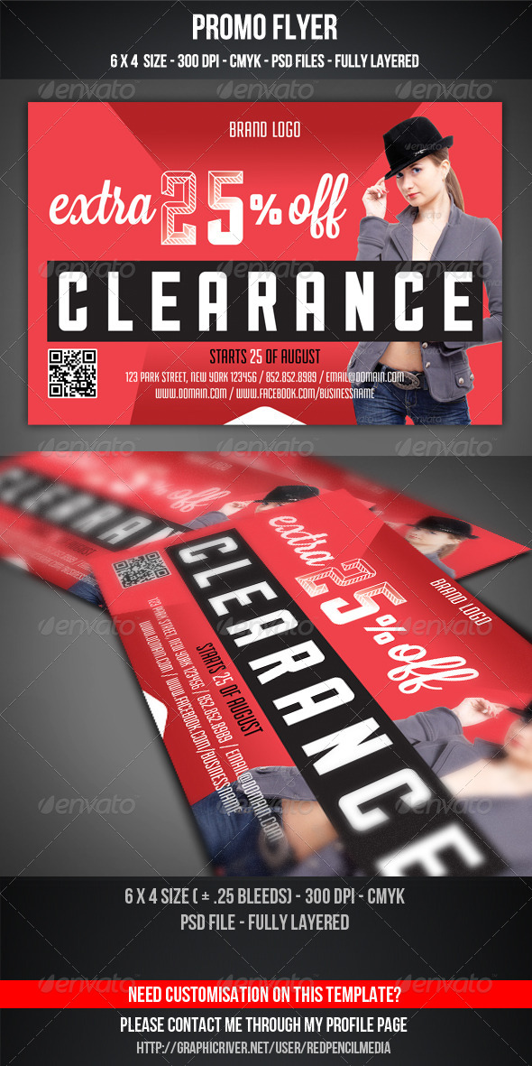 GraphicRiver Promo Flyer 5195659