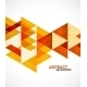 Orange Business Triangles - GraphicRiver Item for Sale