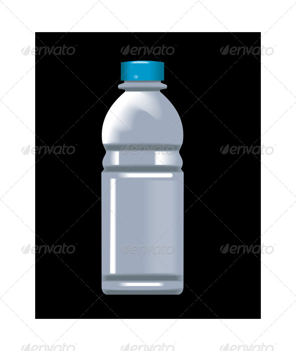 GraphicRiver Plastic Water Bottle Container 5199086