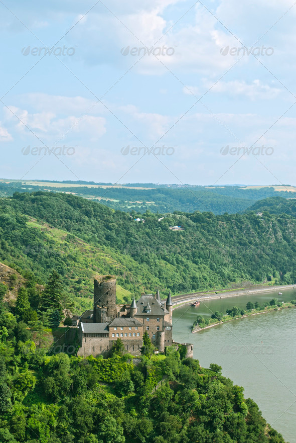 Katz Castle  - Stock Photo - Images