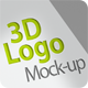 3D Logo Mockup - GraphicRiver Item for Sale