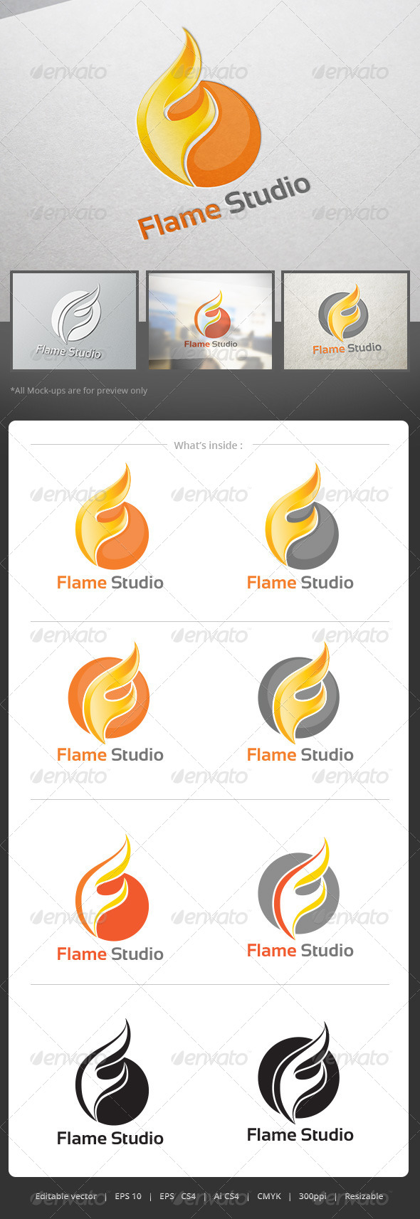 GraphicRiver FlameStudio Logo 5201427