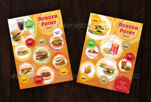 GraphicRiver Fast Food Flayer 5202187