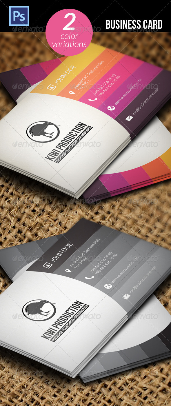 GraphicRiver Business Card 5202275
