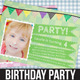 Birthday Party Invitation - 02 - GraphicRiver Item for Sale
