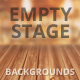 Empty Stage Backgrounds Wooden Edition - GraphicRiver Item for Sale