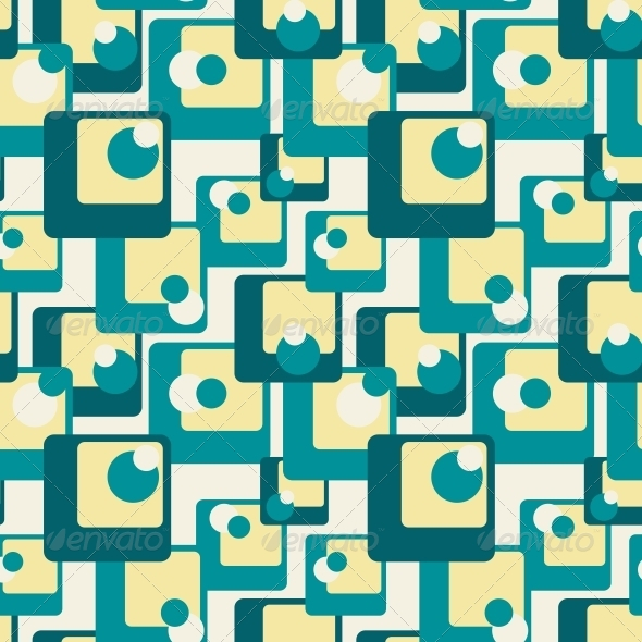 GraphicRiver Abstract Retro Geometric Seamless Pattern 5209249