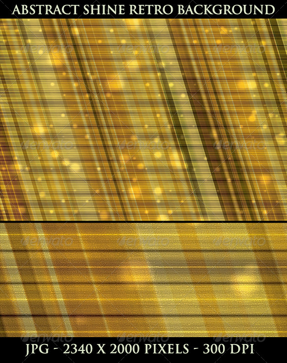 Abstract Shine Retro Background - Tech / Futuristic Backgrounds