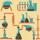 Chemistry Pattern - GraphicRiver Item for Sale