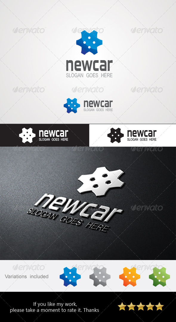 Newcar Logo - Abstract Logo Templates