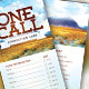 One Call Church Connection Card Template - GraphicRiver Item for Sale