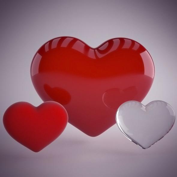 3DOcean Heart 5211022