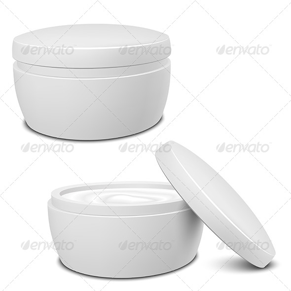 GraphicRiver Cream Container 5211071