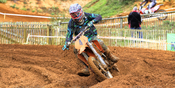 Stock Photo - PhotoDune Motocross Racing 534720