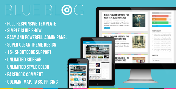 Blog | Blue Blog – Responsive Wordpress Blog Theme - Blog / Magazine WordPress