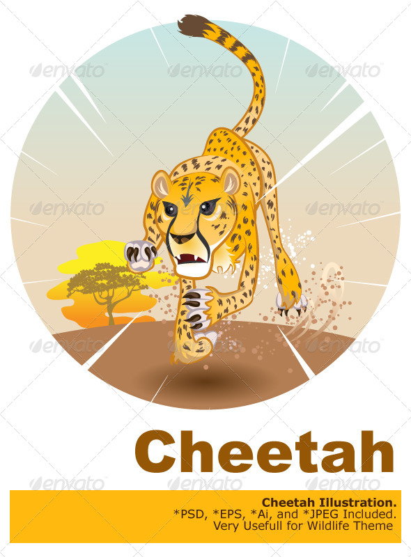 GraphicRiver Cheetah King of Speed 5212212