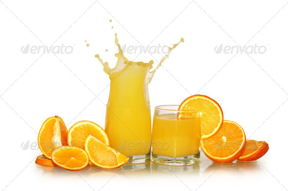 Fresh Orange Juice - Stock Photo - Images