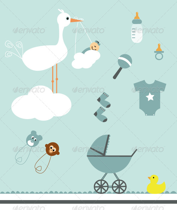 GraphicRiver Baby Set 5213820