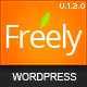 Freely Premium WordPress Theme - ThemeForest Item for Sale